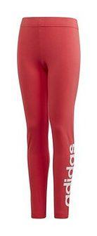 Legginsy dziewczęce Essentials Linear Adidas (core pink/white)