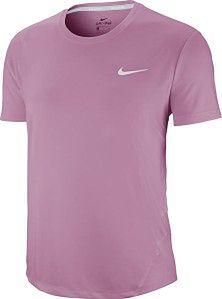 Koszulka damska Miler Top Nike (różowa)