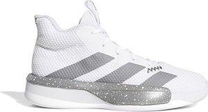 Buty młodzieżowe koszykarskie Pro Next 2019 Adidas (cloud white/grey three)