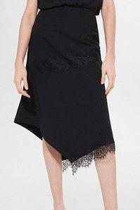 Mohito - Asymetryczna spódnica z koronką -