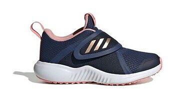 Buty dziecięce FortaRun X Adidas (tech indigo/copper metallic/glory pink)