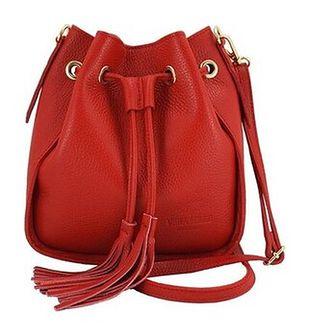 Modne torebki młodzieżowe Barberini's - Czerwona jasna