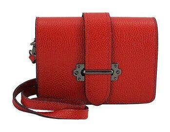 Barberini's - mała torebka listonoszka - Czerwona jasna