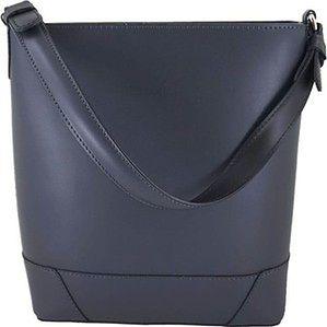 Barberini's - torebki damskie klasyczne - Szara ciemna