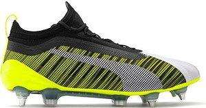 Buty piłkarskie korki evoKNIT One 5.1 SG Puma (yellow/black/white)