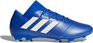 Buty piłkarskie korki Nemeziz 18.2 FG Adidas (football blue/cloud white)