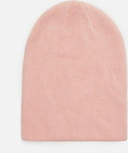 Cropp - Gładka czapka - Różowy