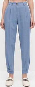 Reserved - Spodnie z wiskozy - Niebieski
