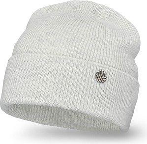 Jesienna czapka damska z wywinięciem