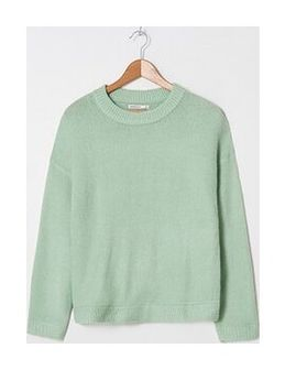 House - Sweter basic - Turkusowy