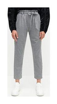 Reserved - Spodnie w kratkę - Czarny