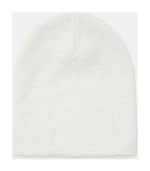 Sinsay - Gładka czapka - Kremowy