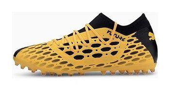 Buty piłkarskie korki Future 5.3 NetFit MG Puma (yellow/black)