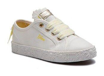 Geox Sneakersy Jr Ciak Girl K J9204K 00011 C1000 S Biały