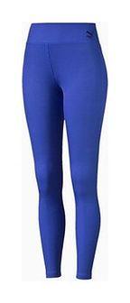 Legginsy damskie Rib Puma (dazzling blue)