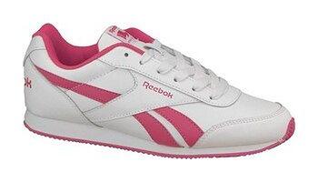 Buty sportowe dziewczęce, białe, Reebok Royal CL Jogger 2