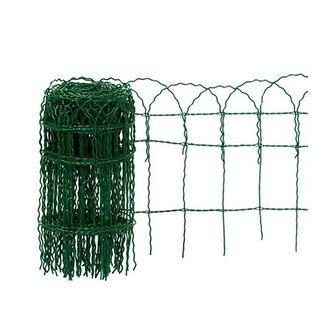 Siatka ozdobna pleciona 0.65 x 10 m zielona