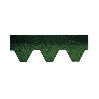 Gont bitumiczny HEXAGONALNY Zielony 3 m2 BARDOLINE