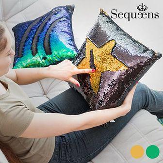Poduszka Syrena z Magiczną Cekinową Poszewką Sequeens