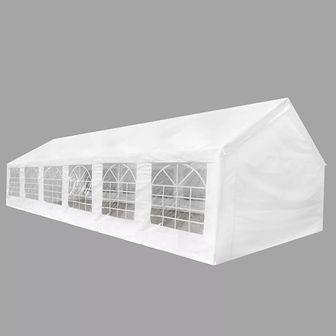 Biały namiot imprezowy, 12 x 6 m