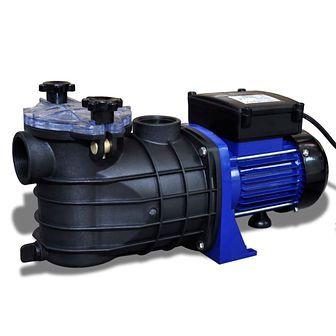 Elektryczna pompa do basenu 500W Niebieska