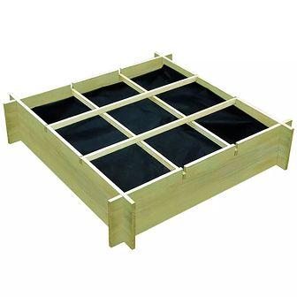 Donica 90 x 90 x 20 cm, impregnowane drewno FSC