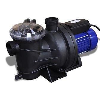 Elektryczna pompa do basenu 1200W Niebieska
