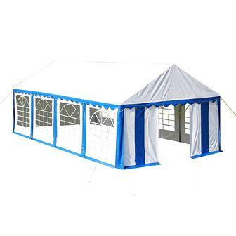 Namiot imprezowy 4 x 8 m, niebieski