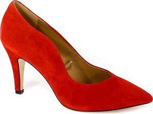 Czółenka Caprice 9-22412-21 530 Red Suede