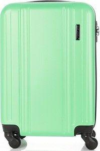 Modne Walizki Kabinówki 4 kółka renomowanej marki Madisson Zielone (kolory)