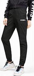 PUMA Damskie Spodnie Dresowe Z Tkaniny Chase Czarny, rozmiar L, Odzież