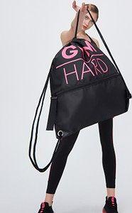 Sinsay - Plecak sportowy Gym Hard - Czarny