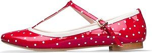 Mellow Yellow Vernice Pois-Rosso MY_2269