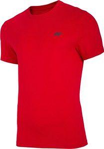Koszulka T-shirt 4F TSM003 - czerwona (NOSH4-TSM003-62S)