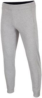 Spodnie dresowe męskie SPMD001 - jasny szary melanż