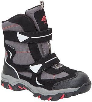 Buty zimowe dla małych chłopców JOBMW303Z - wielokolorowy