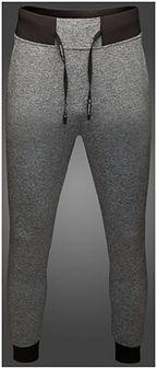Spodnie dresowe męskie Maciek Kot Collection SPMD500 - szary melanż