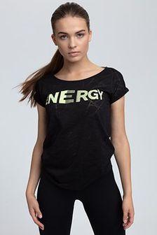 T-shirt damski TSD019 - czarny