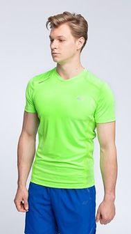 Koszulka treningowa męska TSMF004 - soczysta zieleń neon