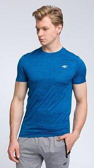 Koszulka treningowa męska TSMF009 - denim melanż