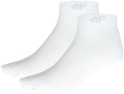 Skarpetki damskie (2 pary) SOD204 - biały + biały