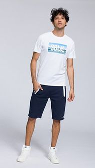 T-shirt męski TSM288 - biały