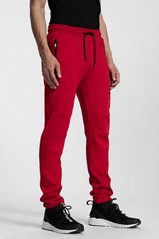 Spodnie dresowe męskie SPMD203 - czerwony