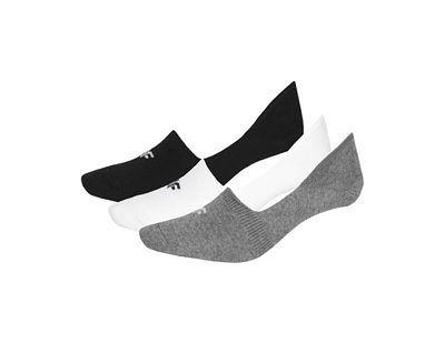 Skarpetki męskie (3 pary) SOM300 - czarny+średni szary melanż+biały