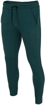 Spodnie dresowe męskie SPMD300 - morska zieleń melanż