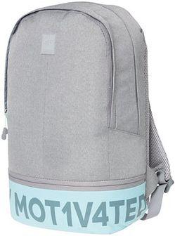 Plecak miejski PCU002 - chłodny jasny szary melanż