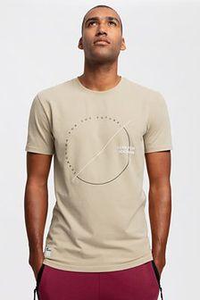 T-shirt męski TSM269 - beż