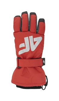 Rękawice narciarskie dla dużych dzieci (chłopców) JREM404 - czerwony