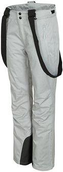 Spodnie narciarskie damskie SPDN300 - chłodny jasny szary melanż