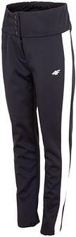 Spodnie narciarskie damskie SPDN101 - głęboka czerń